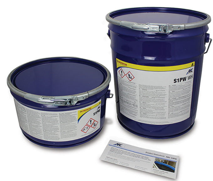ARC S1PW Moderate Chemical Resistant Coating is NSF 61 certified as a protective barrier layer for the internals of pumps, valves and fittings