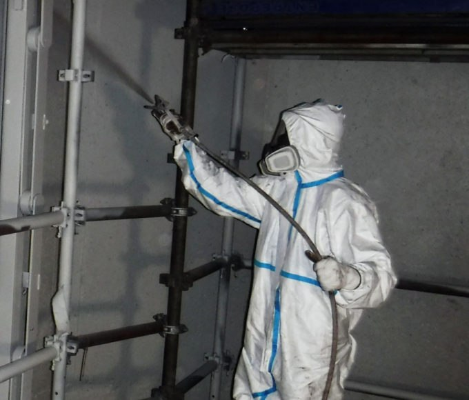 Bioclean Antifoul Coating applied easily, quickly and effectively