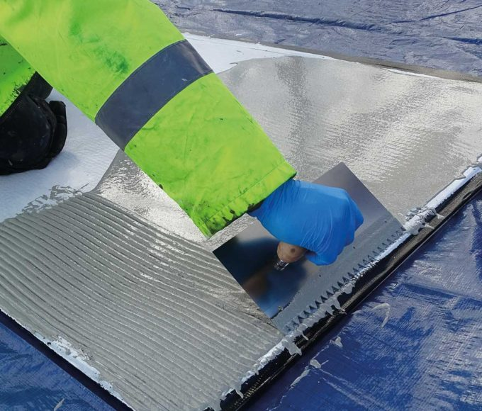 PMMA-Based Self-Levelling Mortar is a versatile technology that's designed to provide a thick-film coating, equalising layer and waterproofing protection