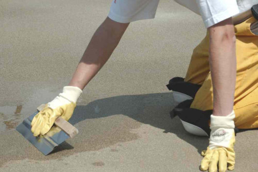 High Strength Epoxy Resin Screed repairs and protects against abrasion and chemical attack