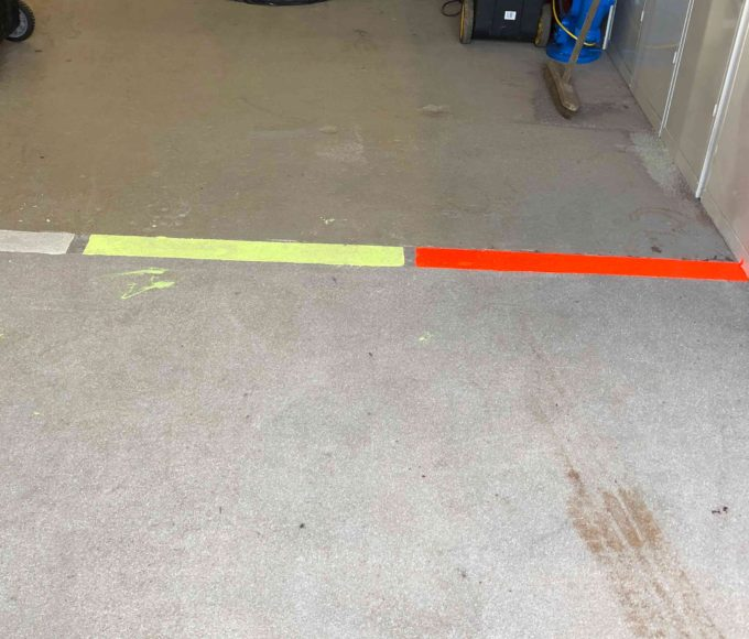 Day Glow High Visibility Epoxy Fluorescent Coating application compared to other industrial high visibility paints