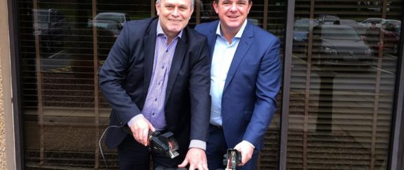 Cactus Industrial directors Jamie Gallagher and Gordon Cairns
