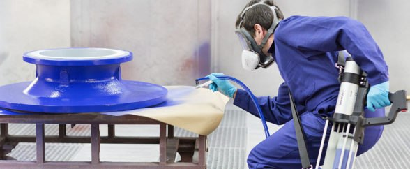 Apply protective coating to large surfaces quickly and easily with Mixpac Spray Technology