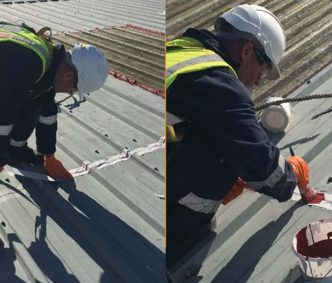 roofing repair reinforcement fleece embedment coat of Polyurethane Liquid Applied Waterproofing Coating