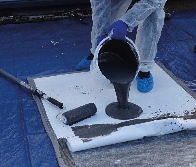PMMA-Based Waterproofing Coating system