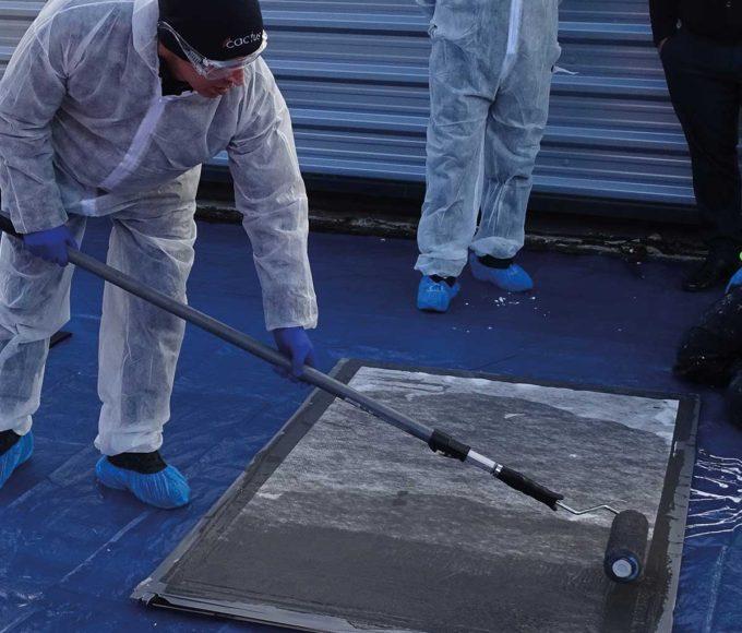 PMMA-Based Waterproofing Coating fleece reinforcement