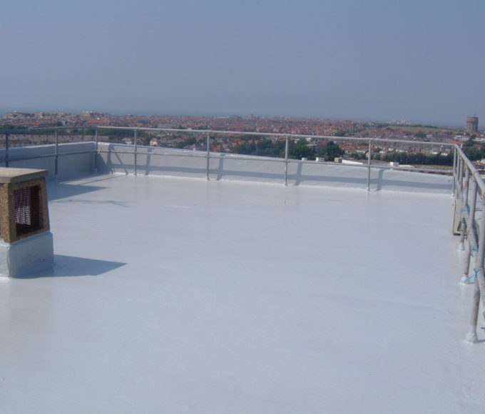 Polyurethane Odorless Liquid is highly resistant to ponded water and provides the perfect shield against future leaks