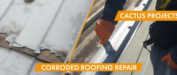 cactus blog image for the Roofing Repair of Fibreglass and Aluminium Roof Cladding project