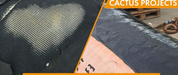 Cactus Blog Urethane 80 Rubber Repair and Protection for Offload Hose