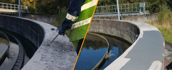 icon for Cactus project blog for the concrete repair of a damaged primary settlement tank