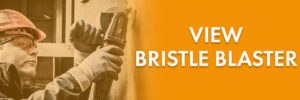view bristle blaster page graphic