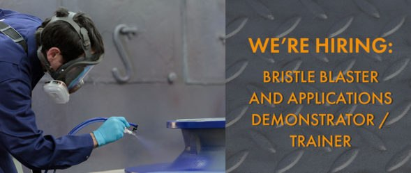 cactus is hiring bristle blaster and applications demonstrator and trainer