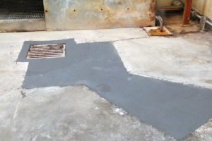 stage 4 project complete effective mortar screed concrete repair is finished