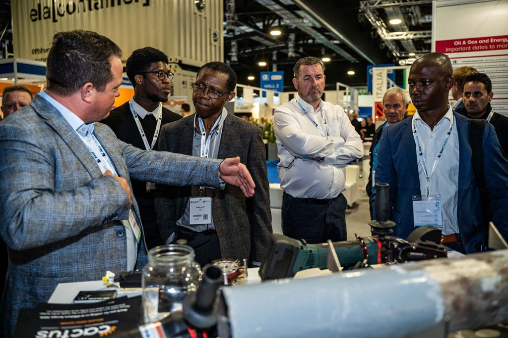 Jamie Gallagher, Managing Director of Cactus Industrial, at Offshore Europe 2019