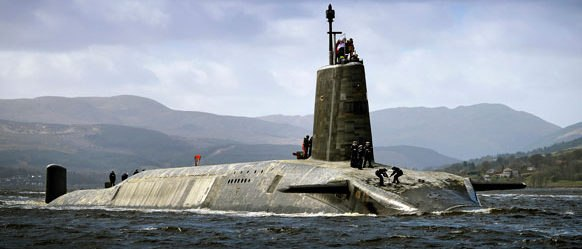 royal navy submarine