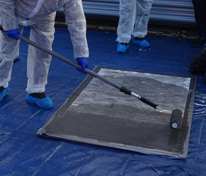 pmma-based universal primer with pmma-based waterproofing coating