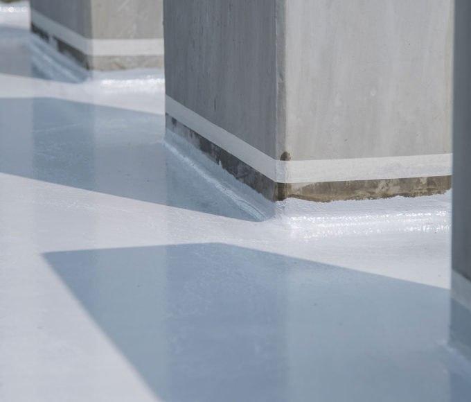 pmma-based waterproofing coating roofing penetrations waterproofing