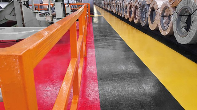 pmma-based anti-slip paint for walkways