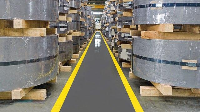 pmma-based anti-slip paint for warehouse walkways