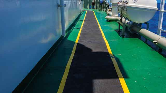 pmma-based top coat for industrial flooring