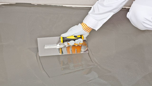 pmma self-levelling mortar floor screed