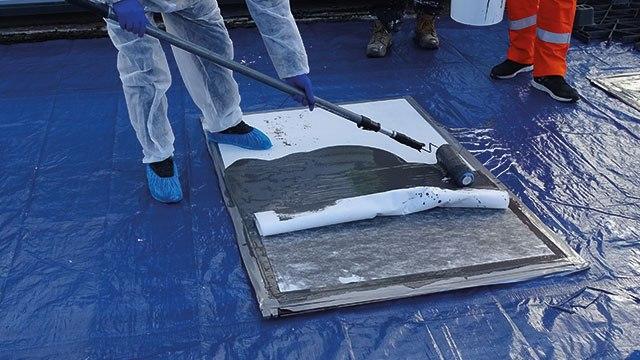 waterproof roof paint pmma waterproofing membrane