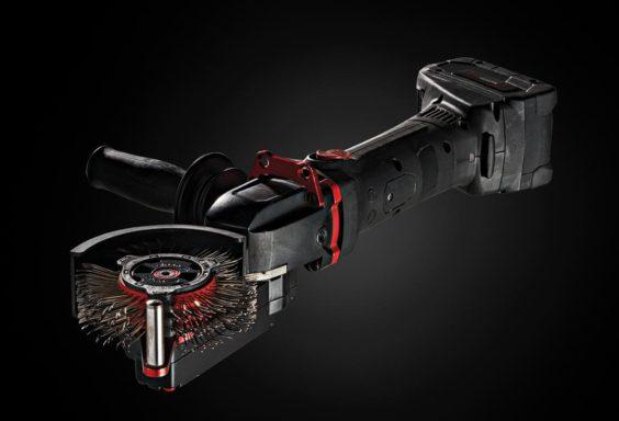 view of the Bristle Blaster Cordless bristles