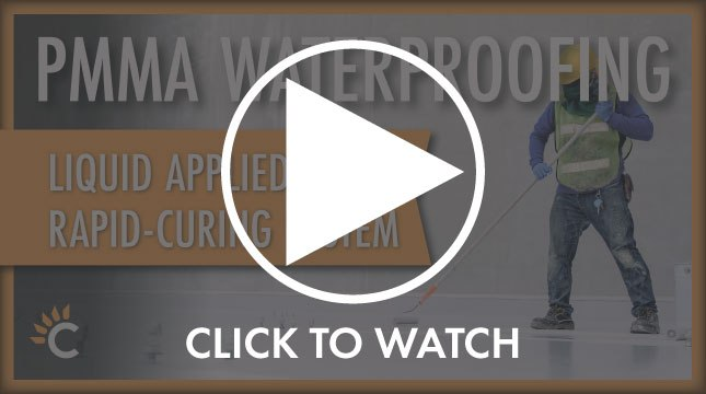 pmma waterproofing for emergency roof repair video thumbnail