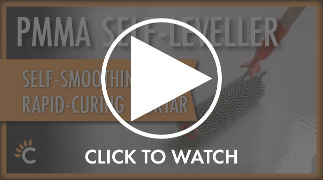 Watch: PMMA Self-Levelling concrete repair for power stations