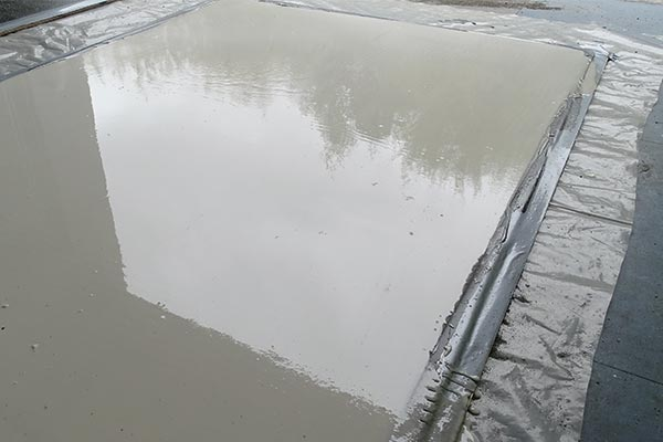 hard dry concrete repair for power stations