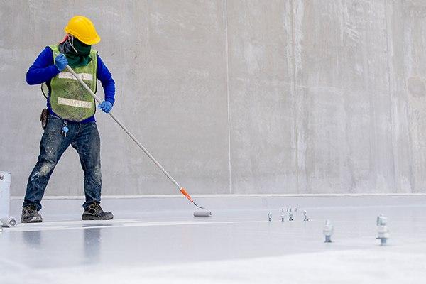 rapid sealer coating warehouse application