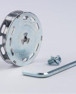 bristle blaster axial adaptor system