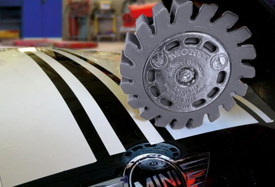 silicon eraser wheel for automotive decal removal