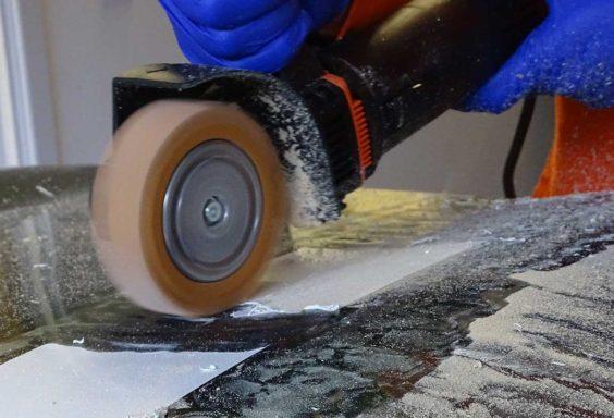 silicon eraser wheel no excess adhesive clogging machine