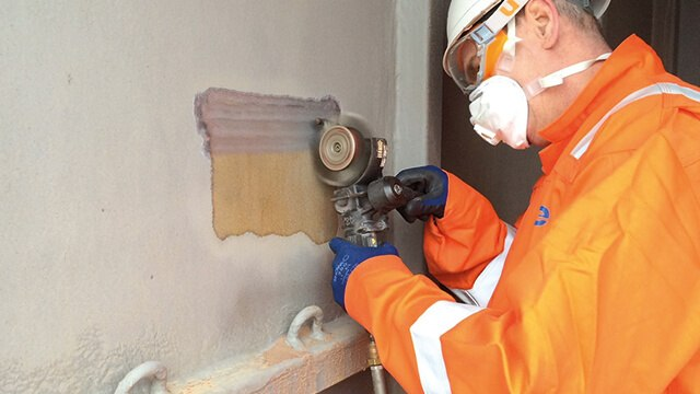 industrial sandblaster alternative for localised repairs