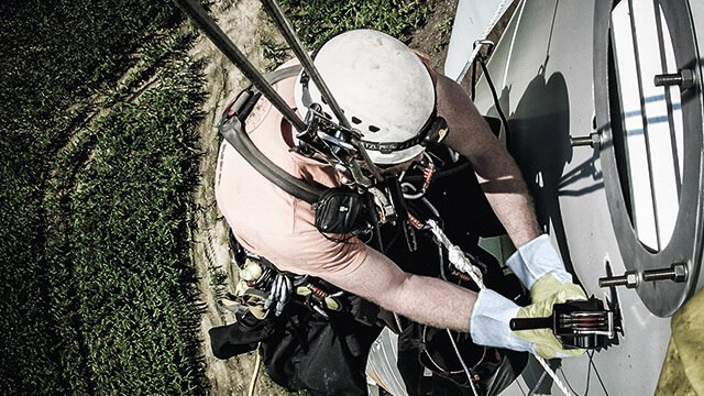 sandblaster alternative for rope access projects