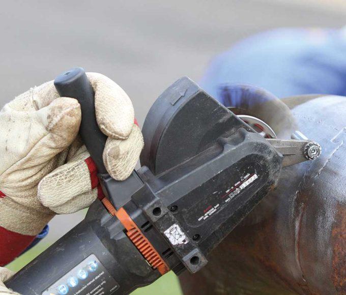 shot blaster alternative technology for fabric maintenance